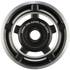 Shimano Steps SM-CRE60 Zębatka rowerowa zewnętrzna osłona, czarny/srebrny